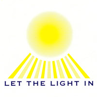 Let the light in logo